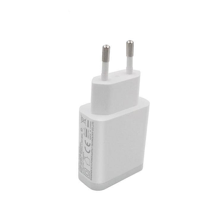 EU Plug Smart Phone Charger Quick Charge 3.0 USB Charger