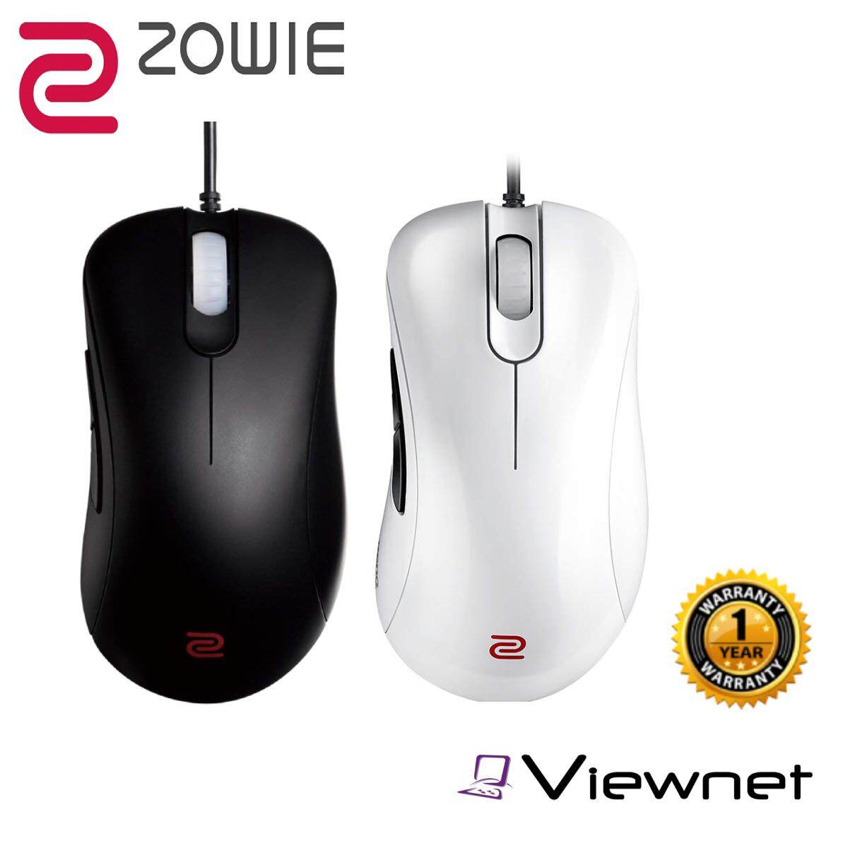 Zowie EC1-A Wired Gaming Mouse for Esports (Black/White)