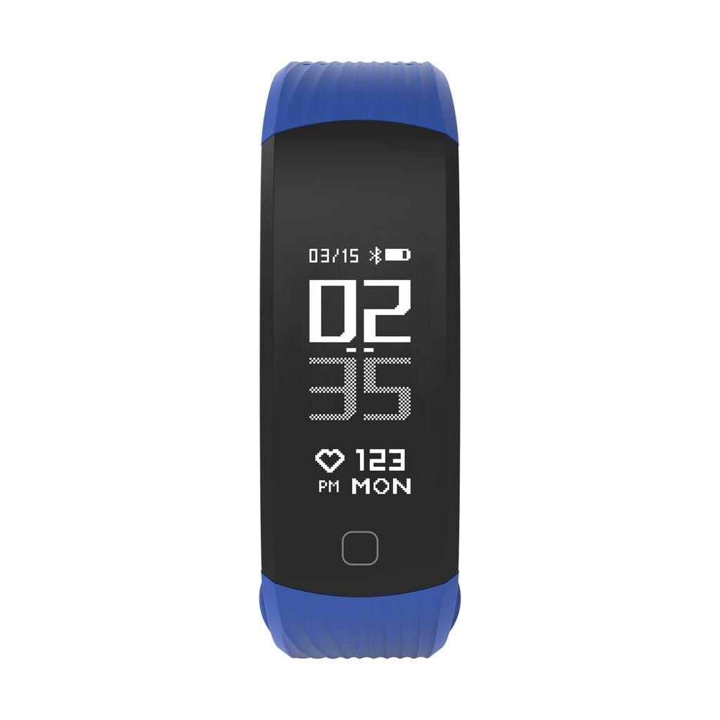 Smart Watch - BLUETOOTH Smart Bracelet Wristband Heart Rate Sleep Monitor Fitness Tracker - BLUE / BLACK / RED
