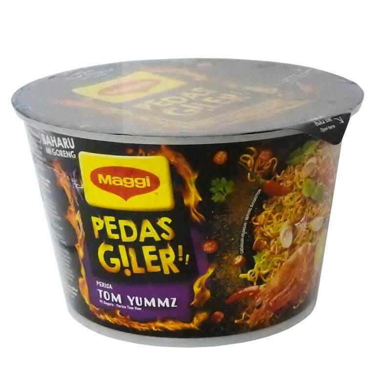 Maggi Instant Noodles Cup Pedas Giler - Tom Yummz (98G) READY STOCK