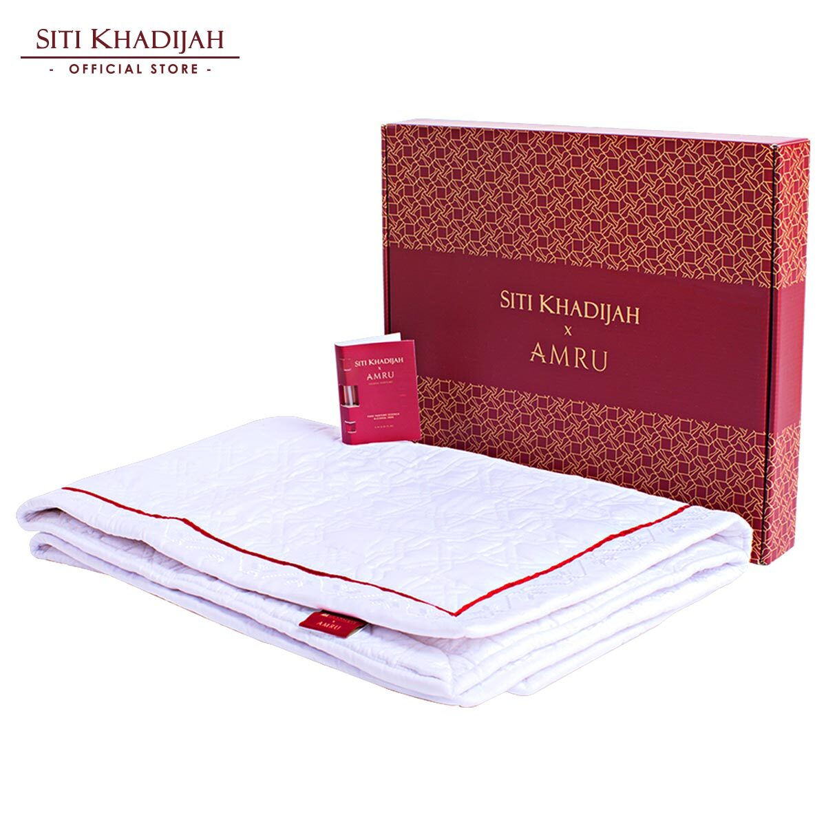Sejadah SK X Amru Basic [ Free Box & Perfume ]