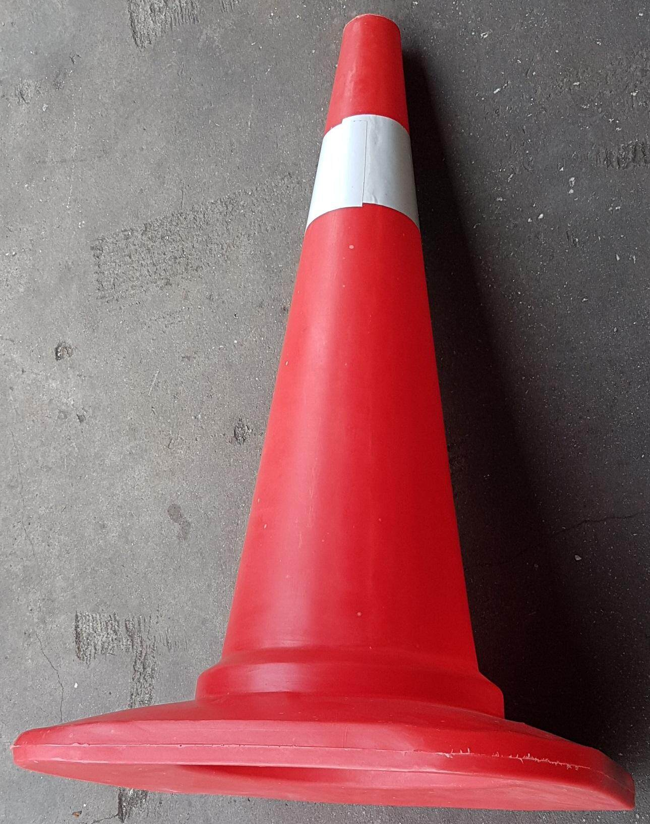 30   inch safety cone stand safe lift jack floor high look hole construction fit center road block repair blocking