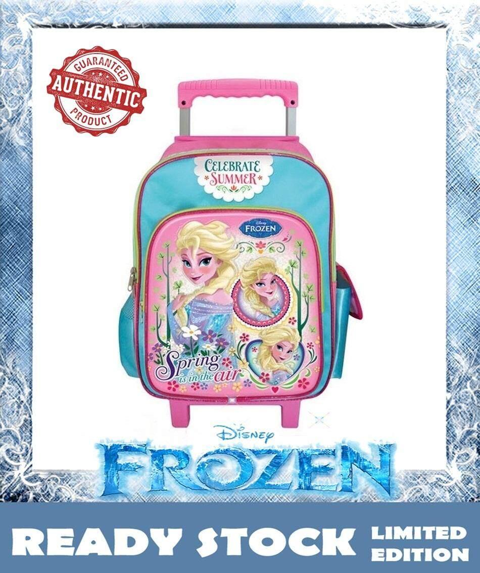 100% DISNEY AUTHENTICDisney Frozen School Trolley Bag