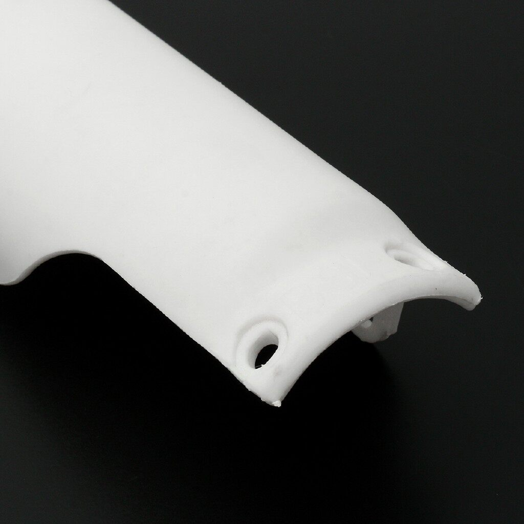 Moto Accessories - 2x White Rount Front Fork Leg Covers Guards Sliders 125cc 144cc Pit - Motorcycles, Parts