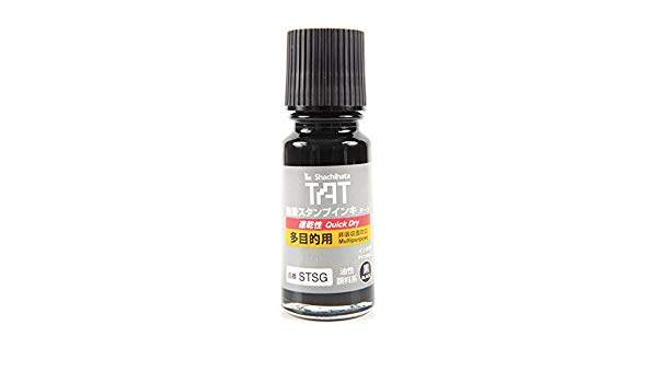 Refill for TAT Uninked Stamp Pads All Surface 55ml (STSG-1) Black