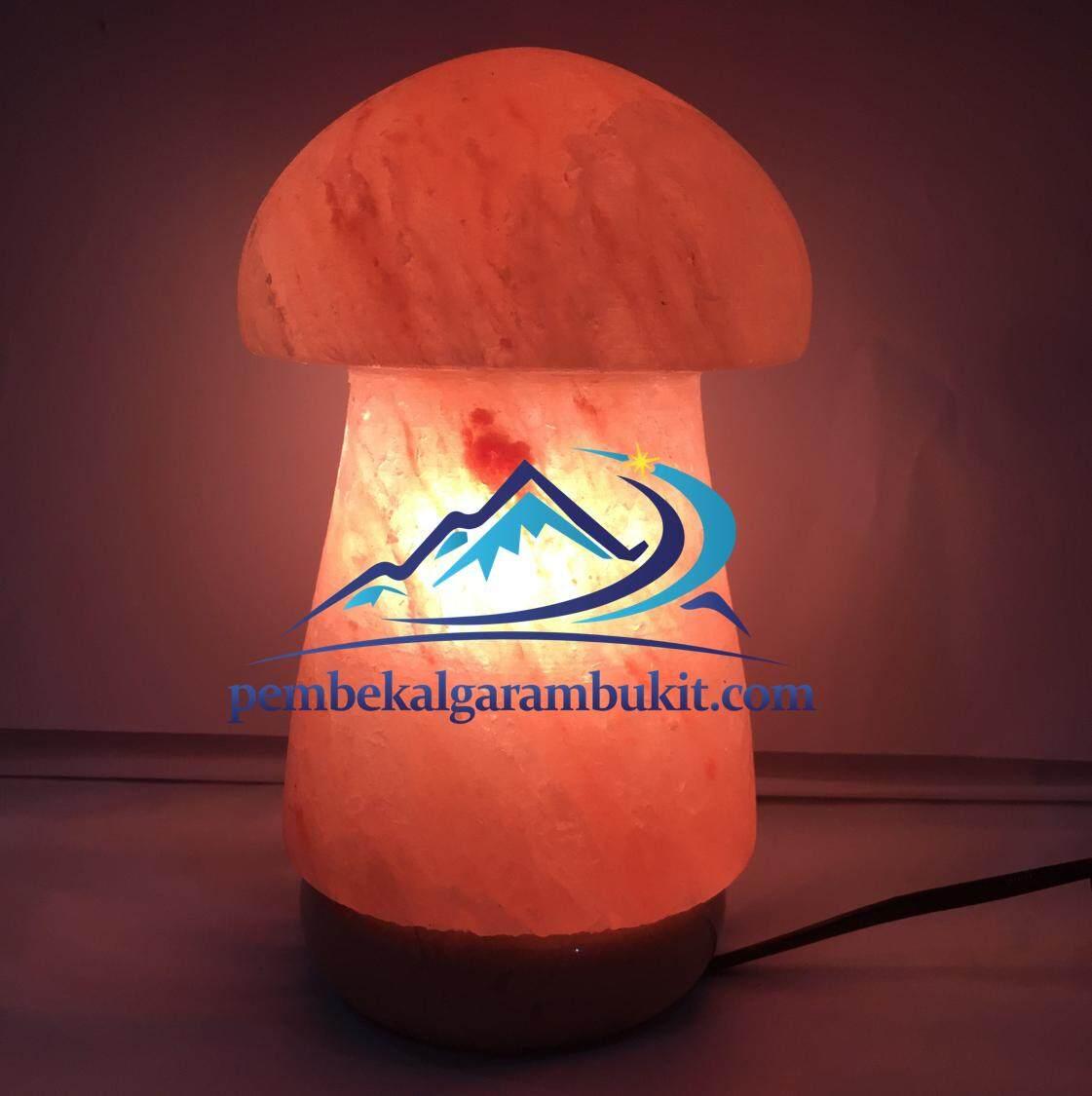 Lampu Garam Bukit Bentuk Cendawan Himalayan Salt Crystal Lamp Mushroom