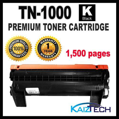 Brother TN-1000 Premium Toner Cartridge for HL-1110, HL1110 DCP-1510, DCP1510 MFC-1810, MFC1810 MFC-1815, MFC1815 HL-1210W, DCP-1610W MFC-1910W
