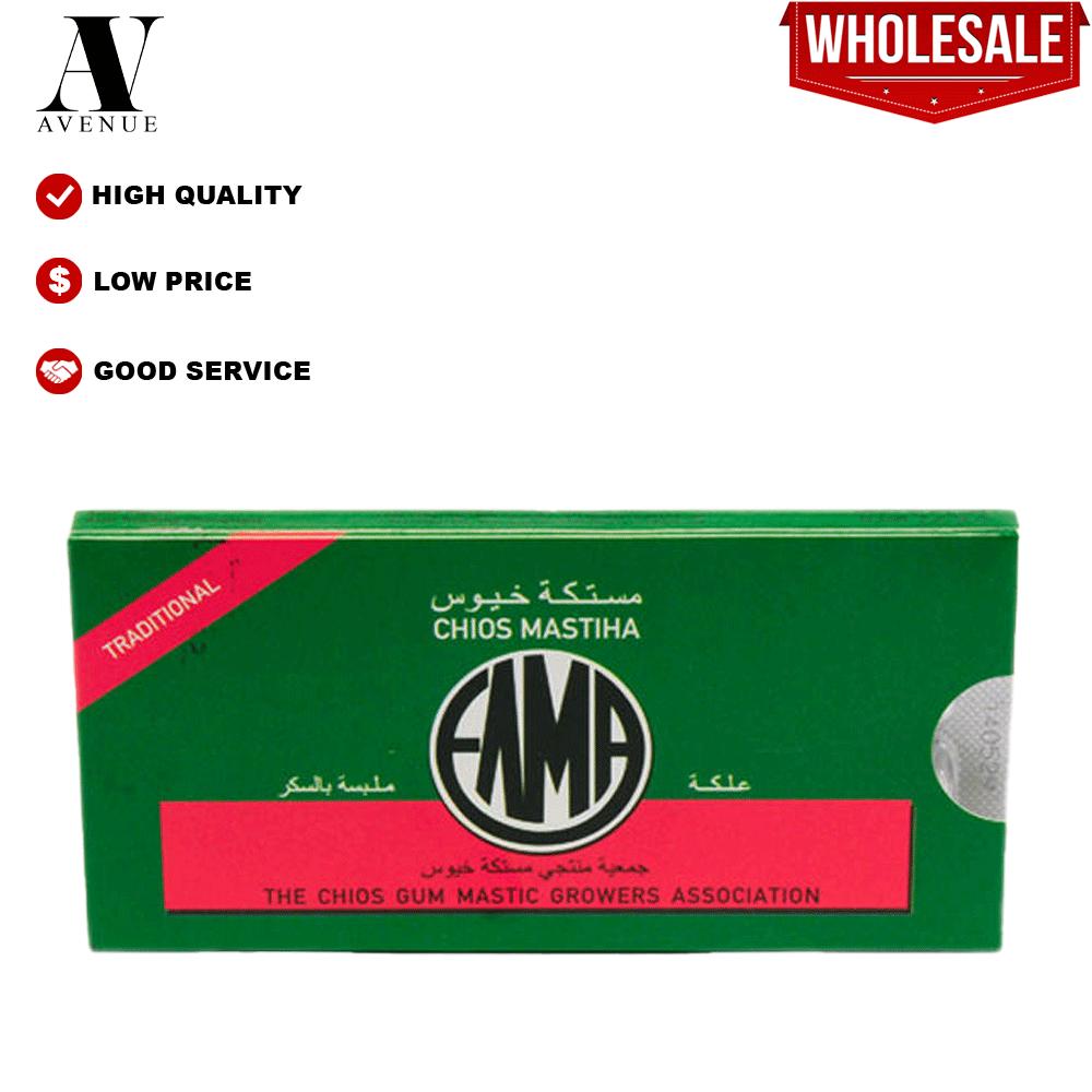 ELMA Mastiha Chewing Gum Trinational  - Chewing Mastic Gum 10pcs 13g