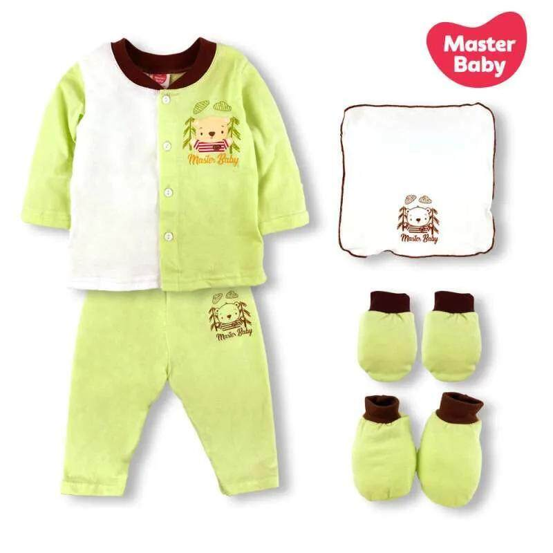 Master Baby Gift Set (Green Bear / I love My Daddy / Ladybird)