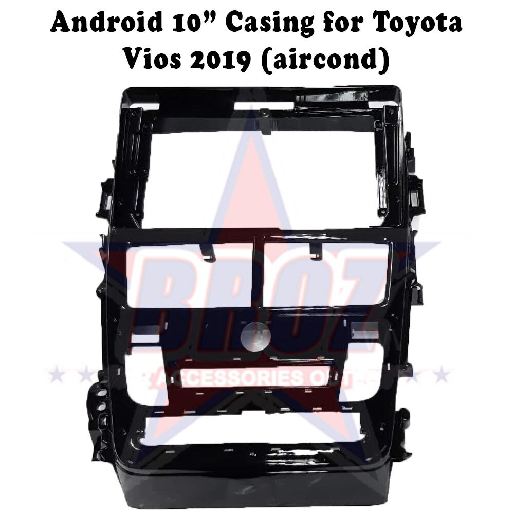 9 inches Car Android Player Casing for Vios 2019 (Aircond)