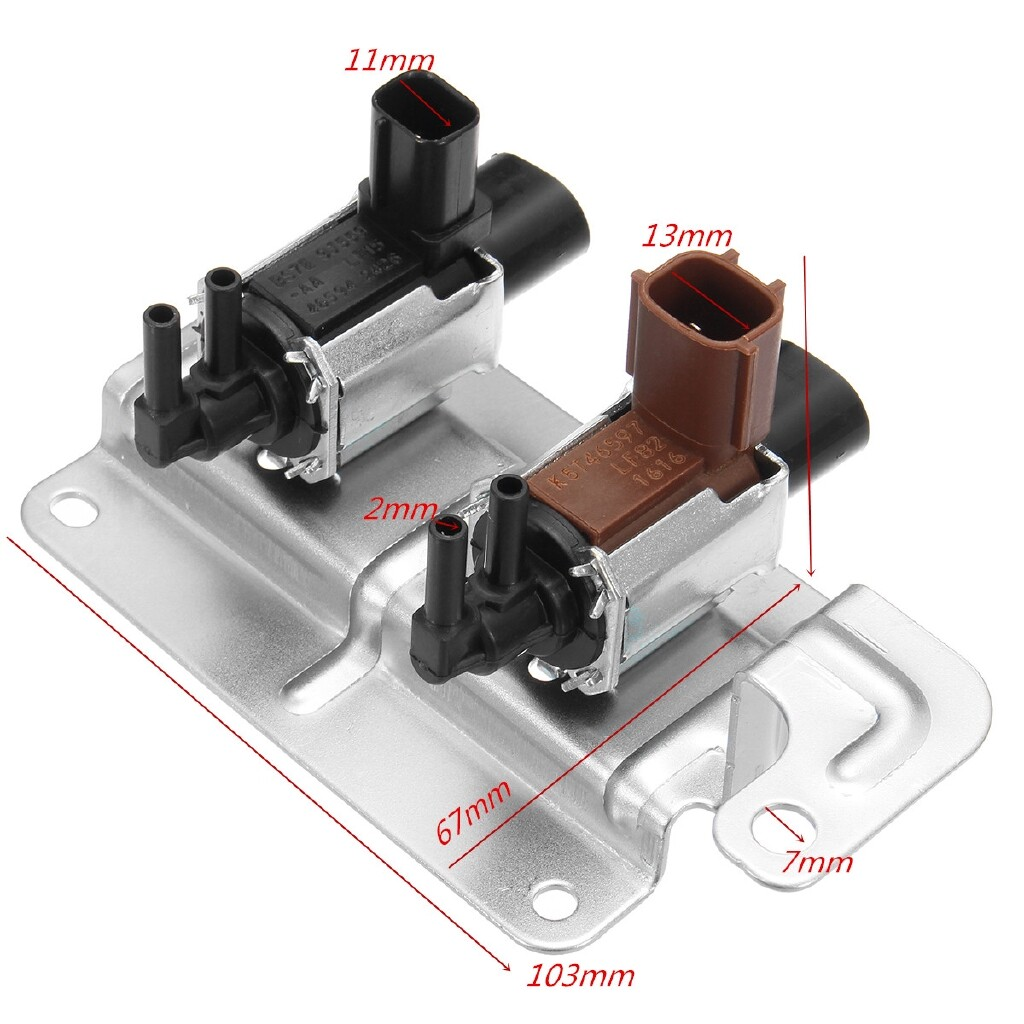 Car Lights - K5T81777 K5T46597 4M5G-9A500 Intake Vacuum Solenoid For Ford Mazda 3 5 6 CX-7 - Replacement Parts