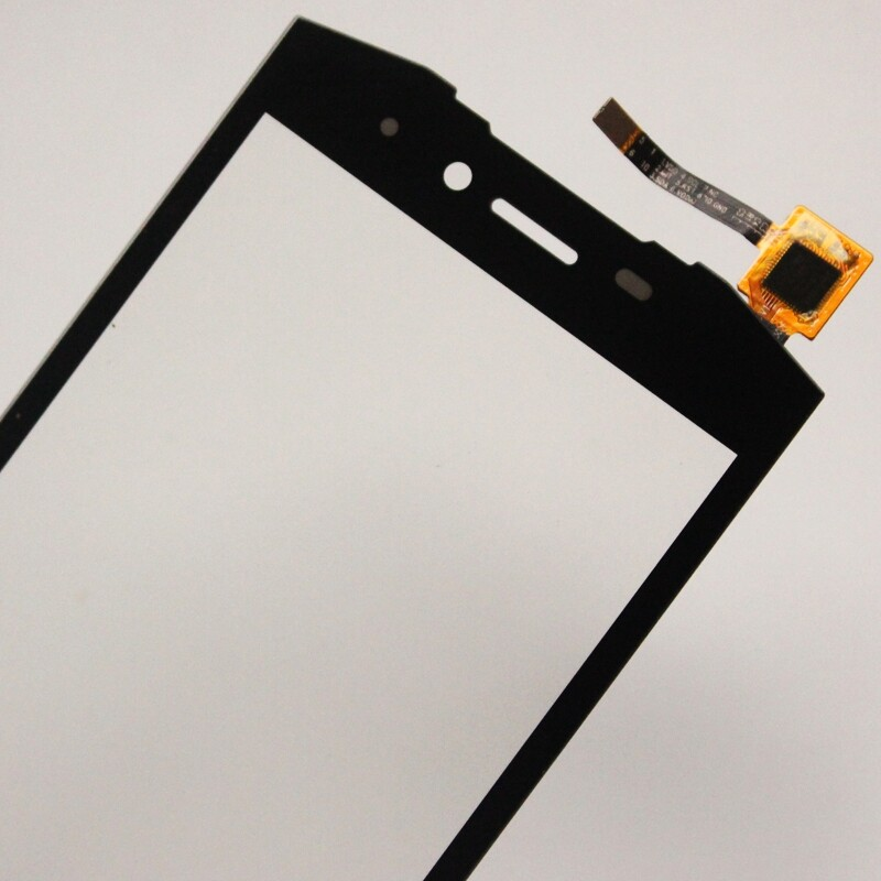 For Black DOOGEE S55 Touch Digitizer Screen Glass Replacement with Repair Tools