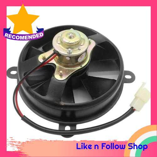 Electric Radiator Thermal Cooling Fan for Motorcycle ATV Quad Dirt Bike 150CC 250CC (Standard)