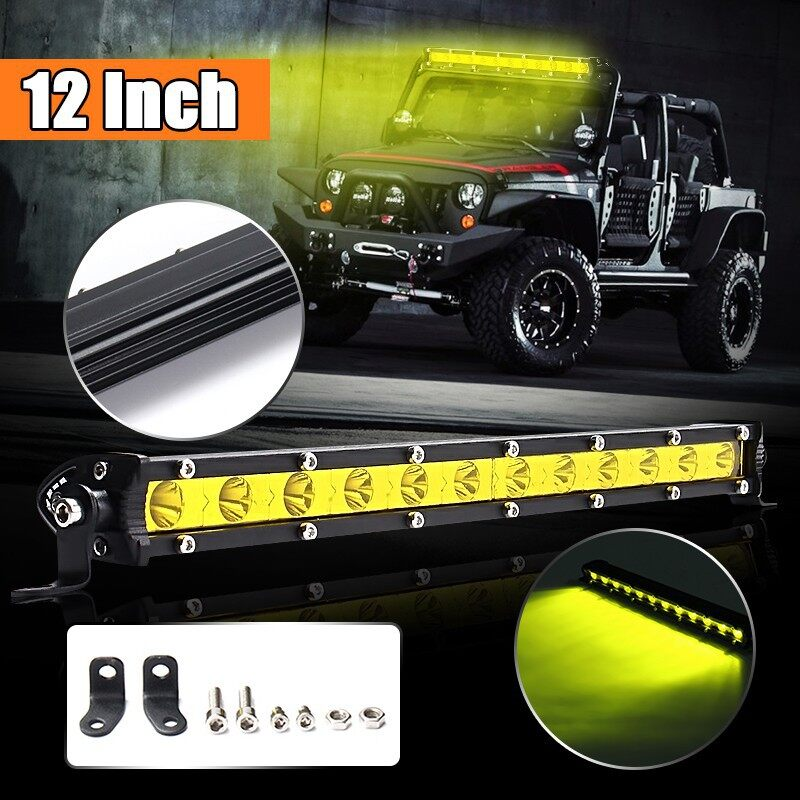 Car Lights - Nilight 12 '' 36w LED Work Light Spot Led Bar - Replacement Parts