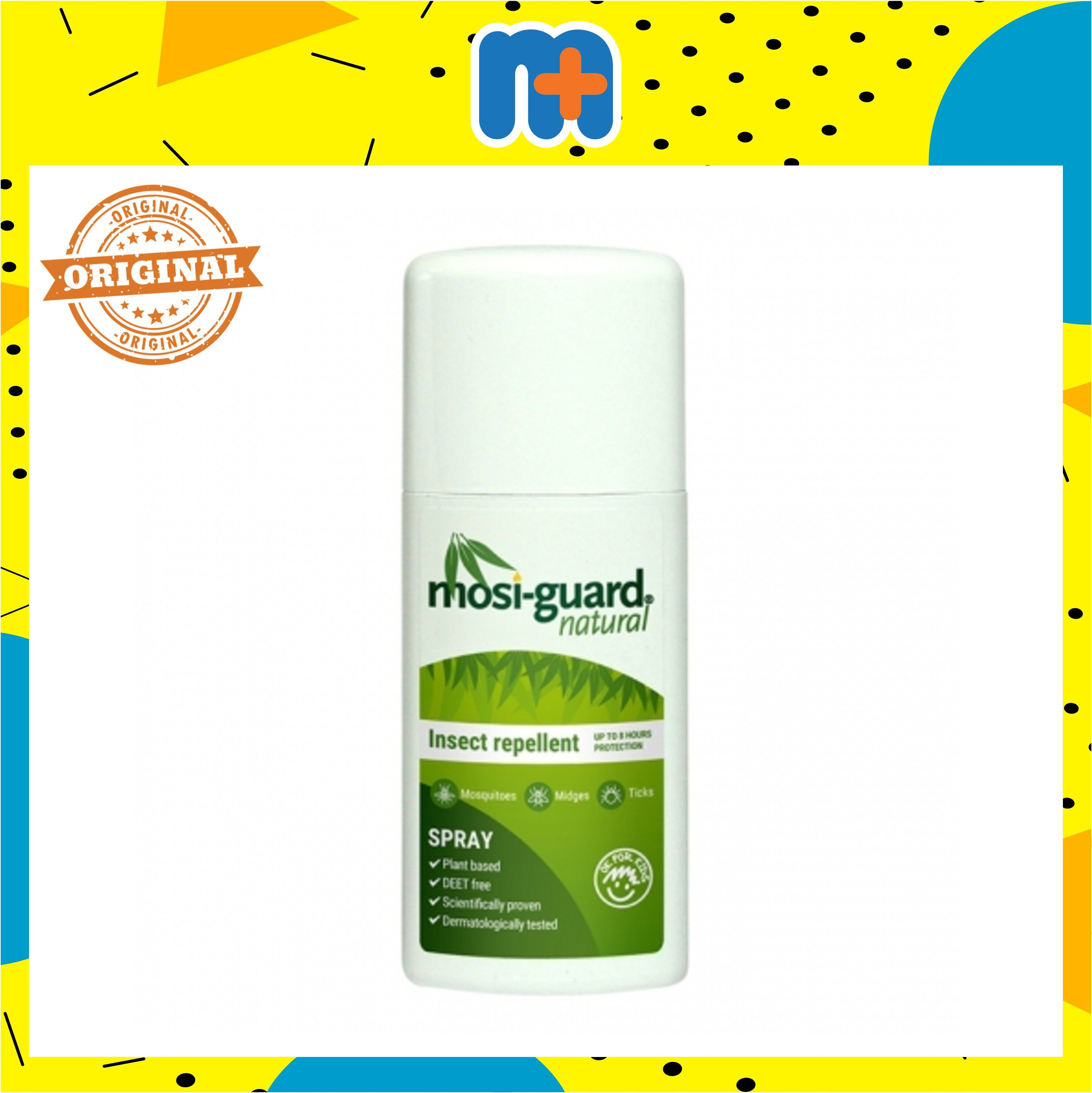 [MPLUS] MOSIGUARD NATURAL INSECT REPELLENT SPRAY 75ML