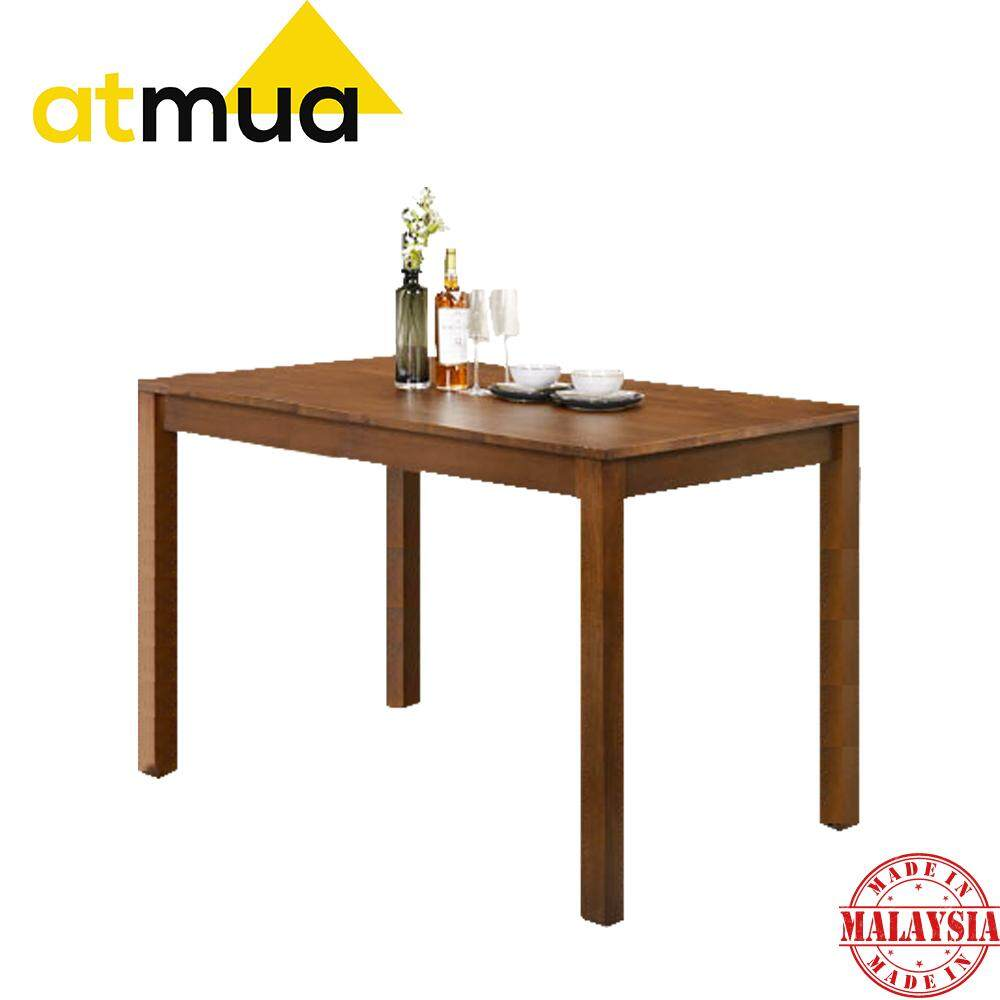 [ Table ONLY ] Atmua Spear Counter Table Dining Table Bar Table High Table ( Solid Wood ) Meja Tinggi 36 inch Meja Solid Kayu Getah