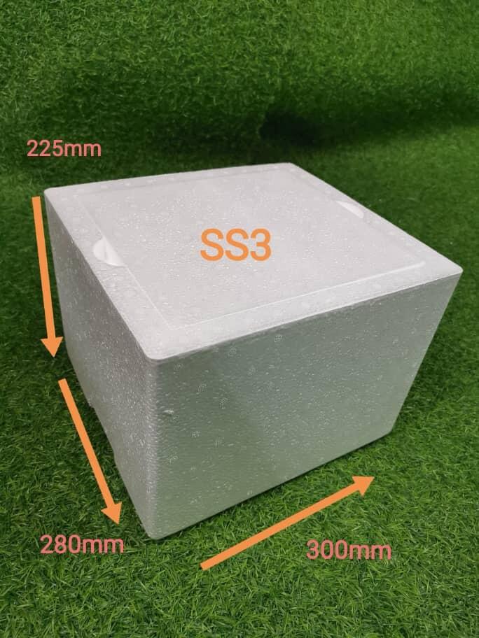 Styrofoam Ice Box / Cooler Box / Picnic box / Foam Box / Fish Box / Tong Ais Polyfoam