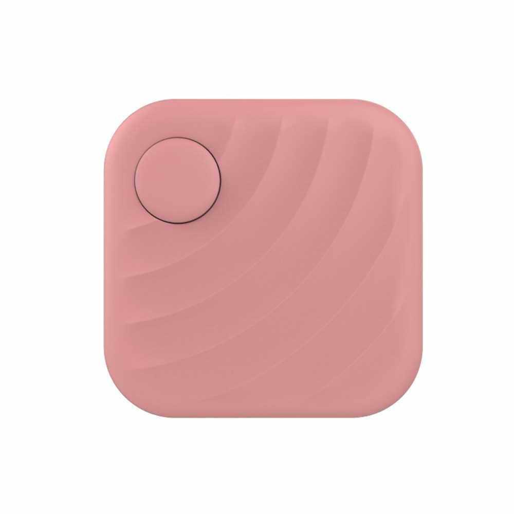 FD02 Key Finder GPS Location Bluetooth Smart Tracker (Pink)