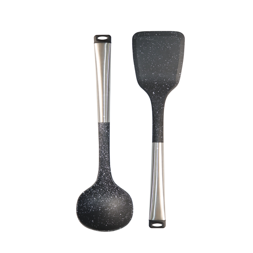 [My Cooking Story / MyCookingStory] NYLON LADDLE & SPATULA Stainless Steel Handle