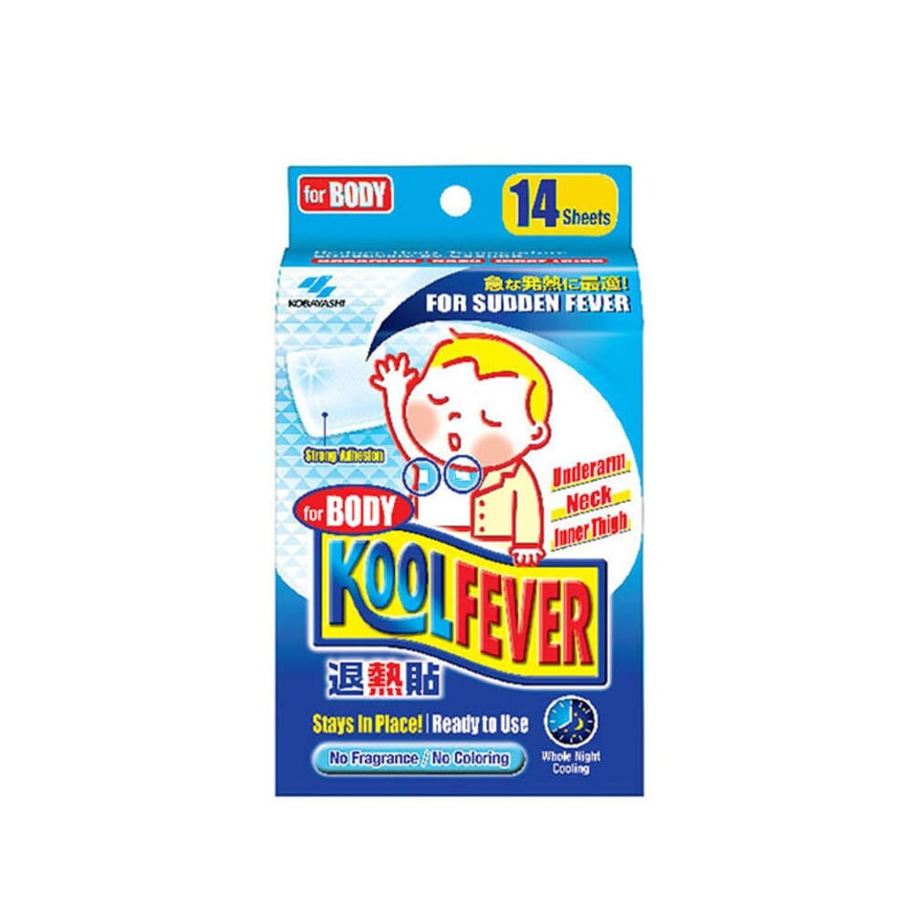 KOOLFEVER For body Baby 14 sheets