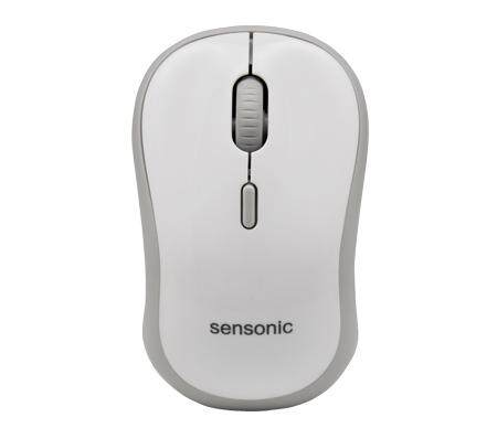 Sensonic MX450 Cordless Optical Silent Wireless Mouse, 1600/1200/1000 Switchable DPI, 2.4GHz Wireless Connection, Smart power saving