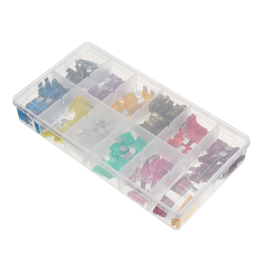Automotive Tools & Equipment - 140 PIECE(s) ATO/APR/ATC Standard Blade Fuse Kit Assortment SET Auto Car Truck 2-40Amp - Car Replacement Parts
