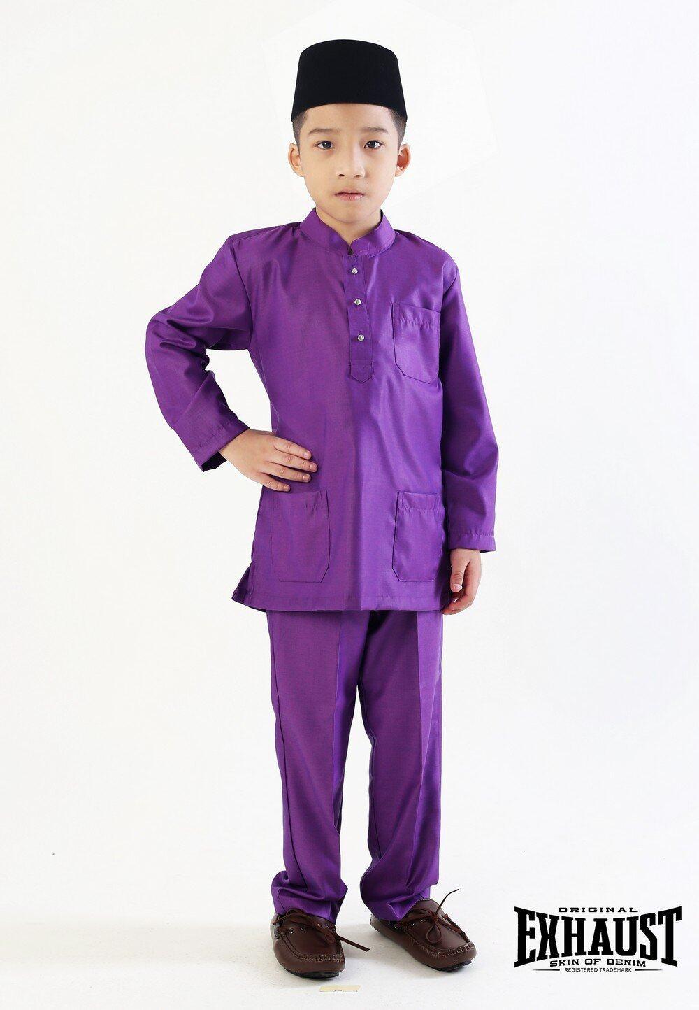 Exhaust Baju Melayu Modern Fashion Kids 88625#3