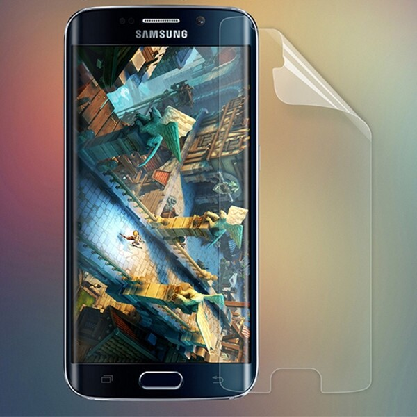 Android Tempered Glass - Matte Scratch-resistant Screen Protector For Samsung Galaxy S6 Edge - Screen Protectors