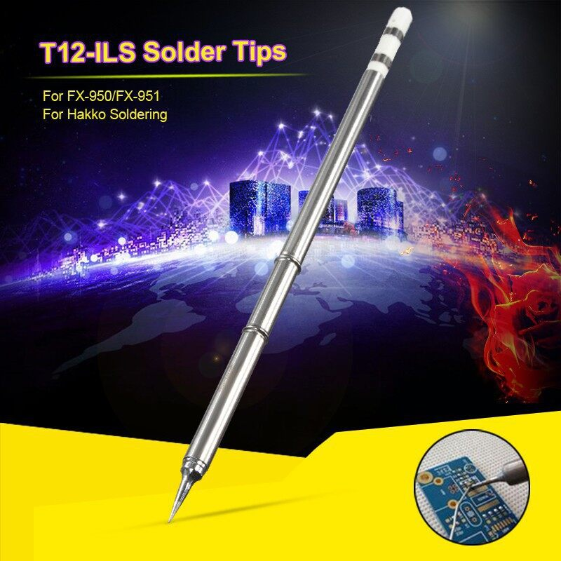 Cool Gadgets - T12-ILS Solder Tips for Hakko FX-950/FX-951 Soldering Iron StationDB - Mobile & Accessories