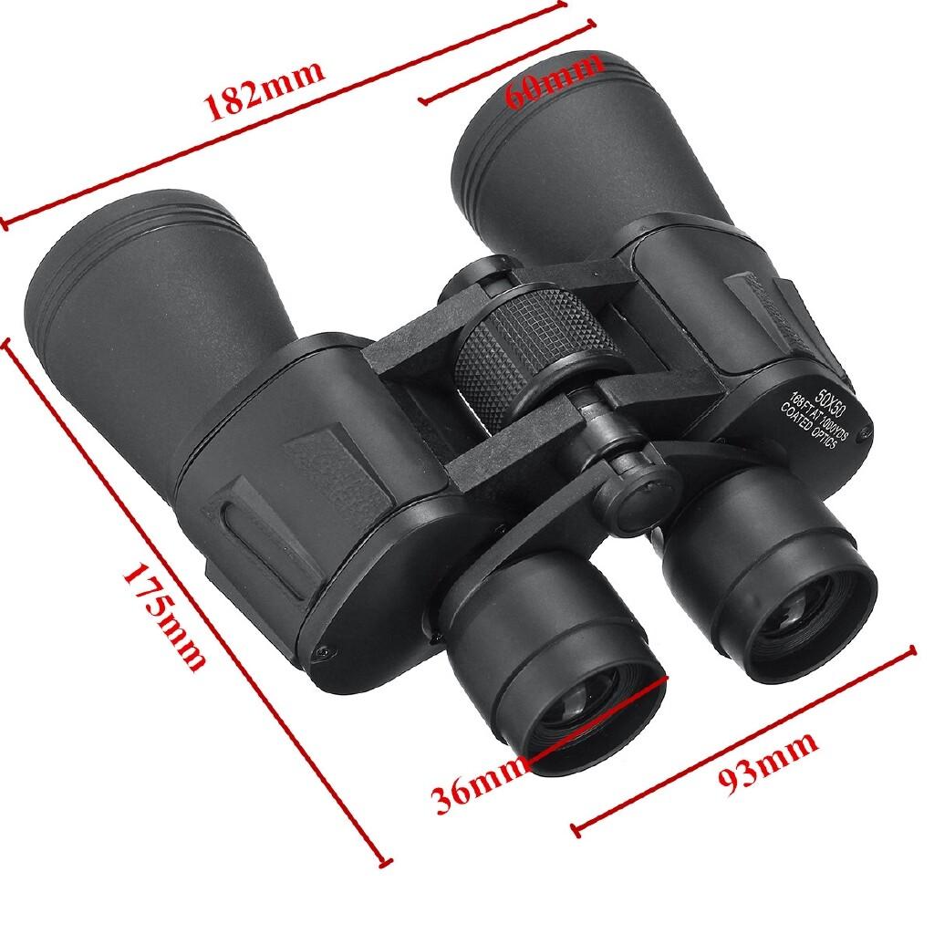 50X50 Zoom BAK4 Prisms Binoculars Night Vision Outdoor Telescope Camping - Cameras & Drones