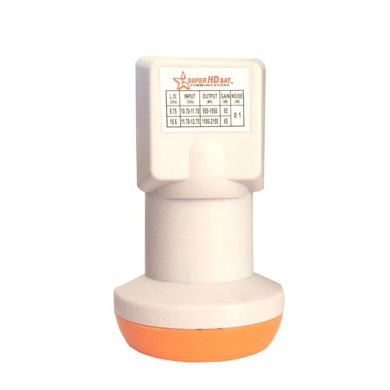 Super HD Sat High Gain Low Noise 0.1 dB Waterproof Universal KU Band Single LNB