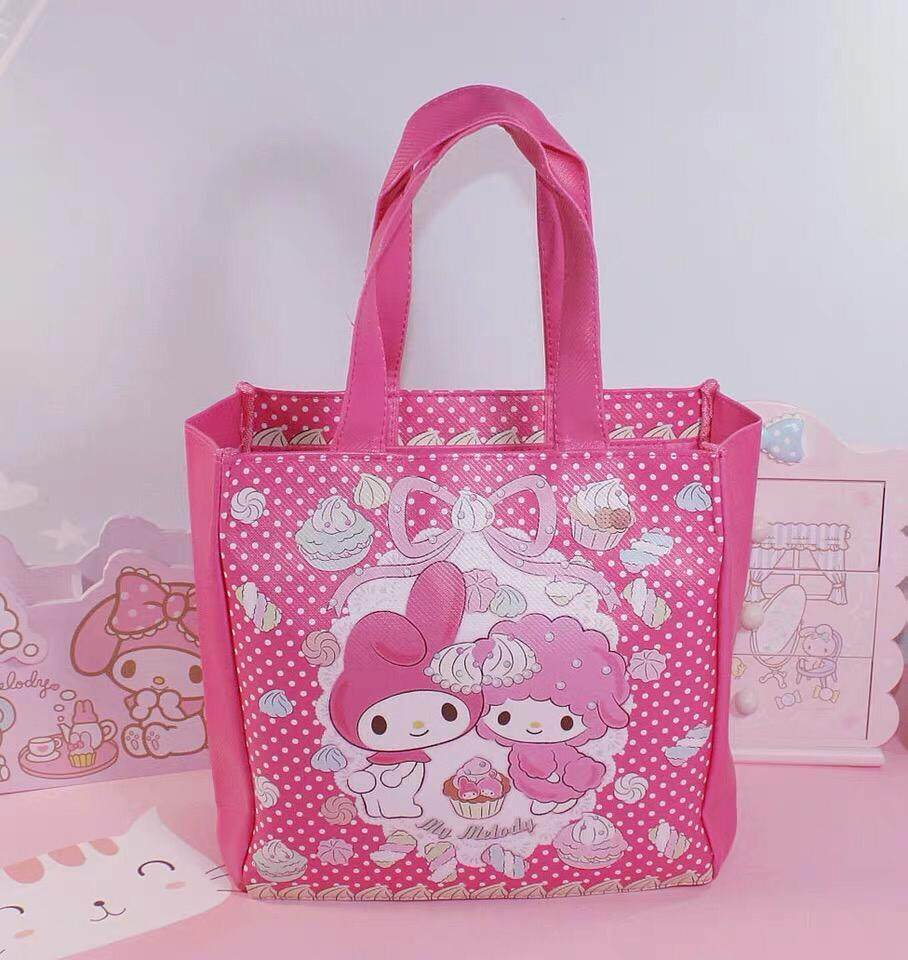 Hello Kitty My Melody Lunch Box Bag Multipurpose  Bag