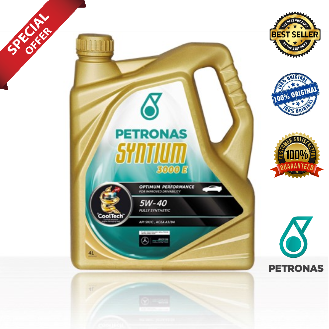 PETRONAS Syntium 3000E 5W40 (4L)