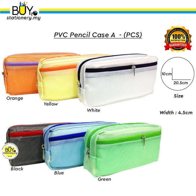 PVC Pencil Case A - (PCS)