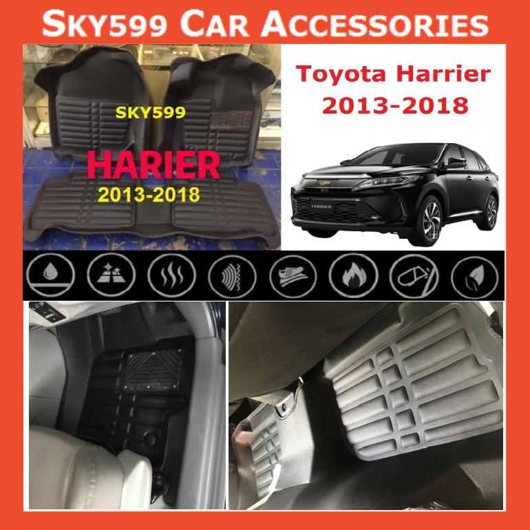 Toyota Harrier Xu60 2013-2020 5D Car Floor Mat/Carpet
