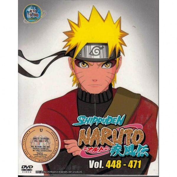 NARUTO SHIPPUDEN Vol.448-471 Box 14 Anime DVD