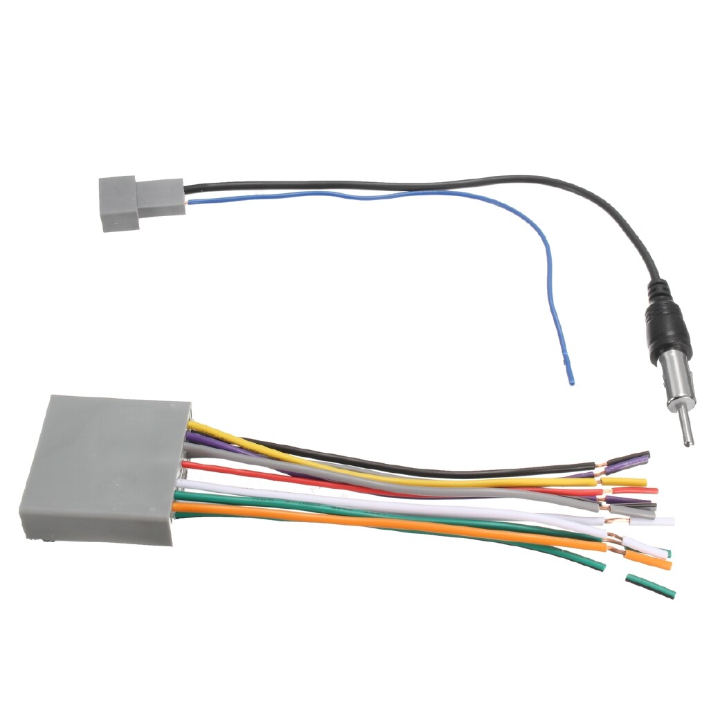 Car Radios - Car Stereo Radio Player Wiring Harness DVD Adapter For Honda Odyssey Civic CR-V - Electronics