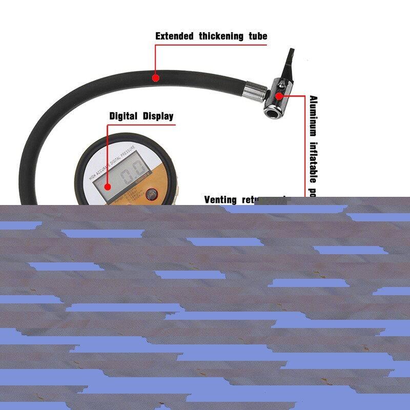 Windscreen Wipers & Windows - 1 PIECE(s) Tire Air Pressure Gauge Car Professional Digital Tyre Inflator Gauge Air Line Tyre Pump - Car Replacement Parts