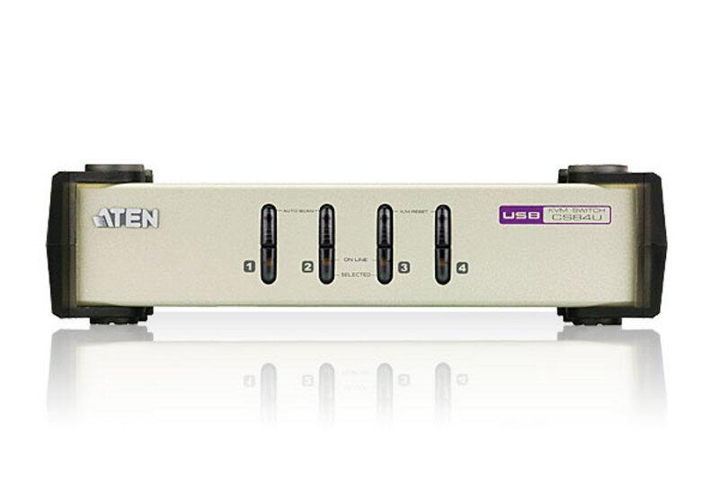 Aten KVM Switch PS2  2-Usb Port / 4 Usb Port (CS82U) / (CS84U-A)