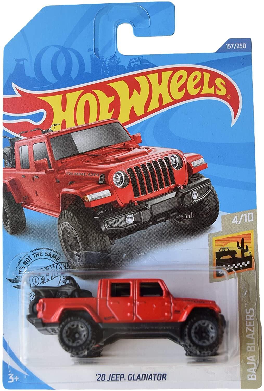 Hot Wheels 20 JEEP GLADIATOR Car Toys Diecast