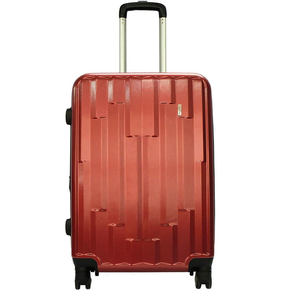 Waterpolo WA1681- 24 inch 4W Anti-theft Polycarbonote (PC) Hard Cases Trolley