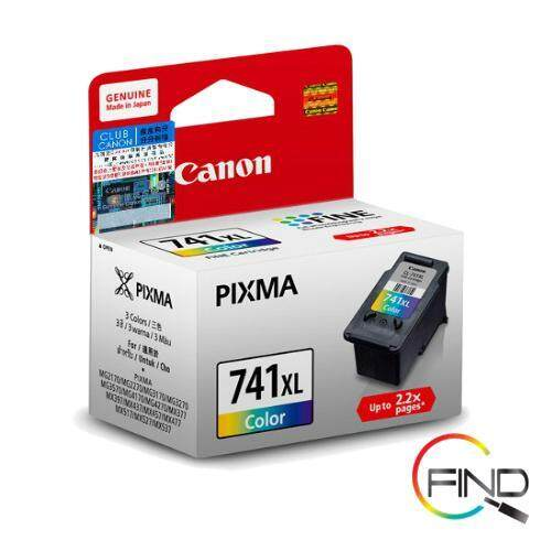 CANON CL-741XL COLOR CARTRIDGE for MG2170/2270/3170/3570/3670/4170/4270, MX377/397/437/457/477/517/527/537, GM2070/4070 Printer