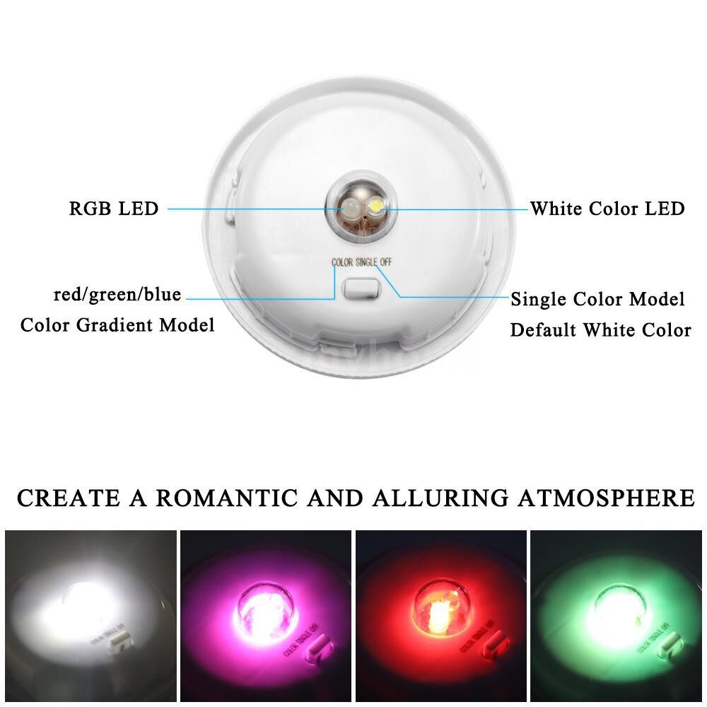 Outdoor Lighting - 3D Meteor Solar Energy Power Colorful Glass Cover Ball LED Garden Light Color Changing Table Lamps - 2 / 1