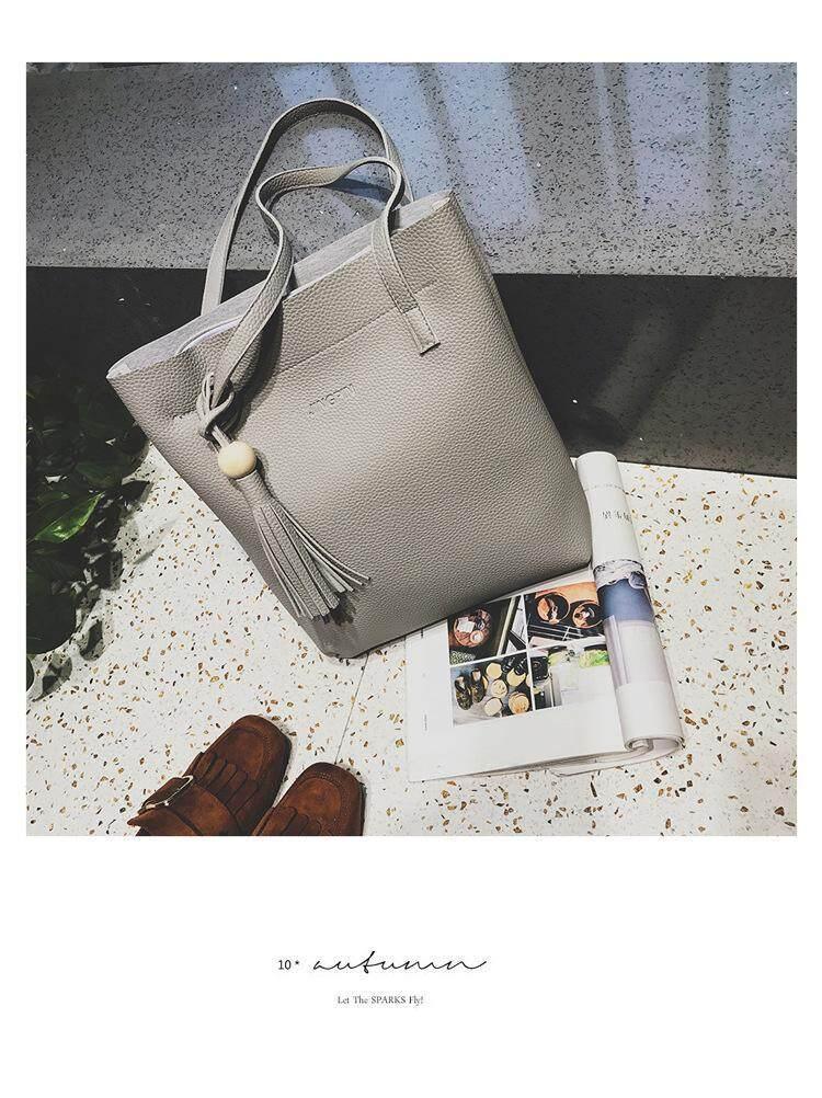 3 Pieces Set Korean Style Tote Sling Bag