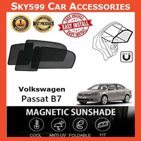 Volkswagen Passat B7 2011-2017 Magnetic Sunshade [4 PCS]