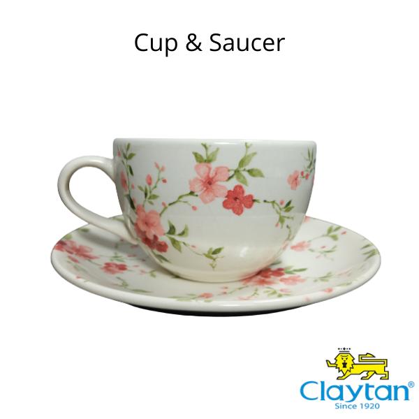 Claytan Tableware- Oriental Ceramic- 406FS Florid