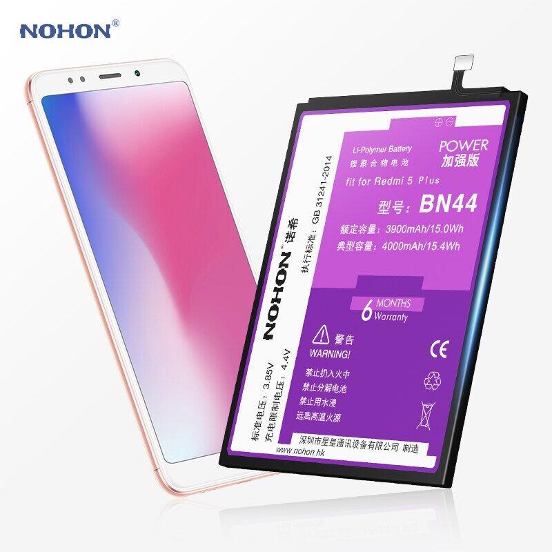 Nohon Redmi 5 Plus BN44 (4000mAh) Battery