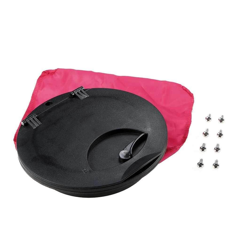 6 Inch Hole Deck Plate Kit Deck Hatch with Cat Bag for Kayak Boat Fishing Rigging
