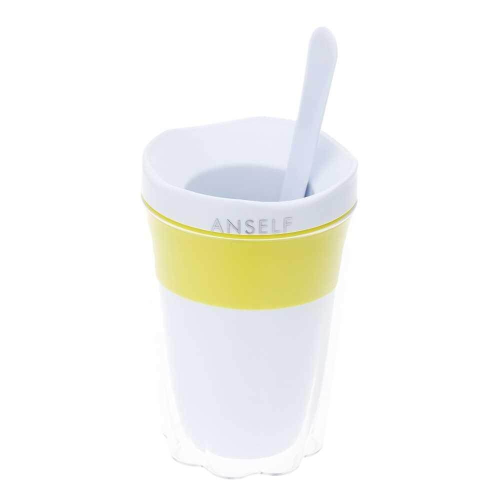 Anself Creative Fruit Juice Smoothie Cup DIY Milkshake Ice Cream Cup Kitchen Tool