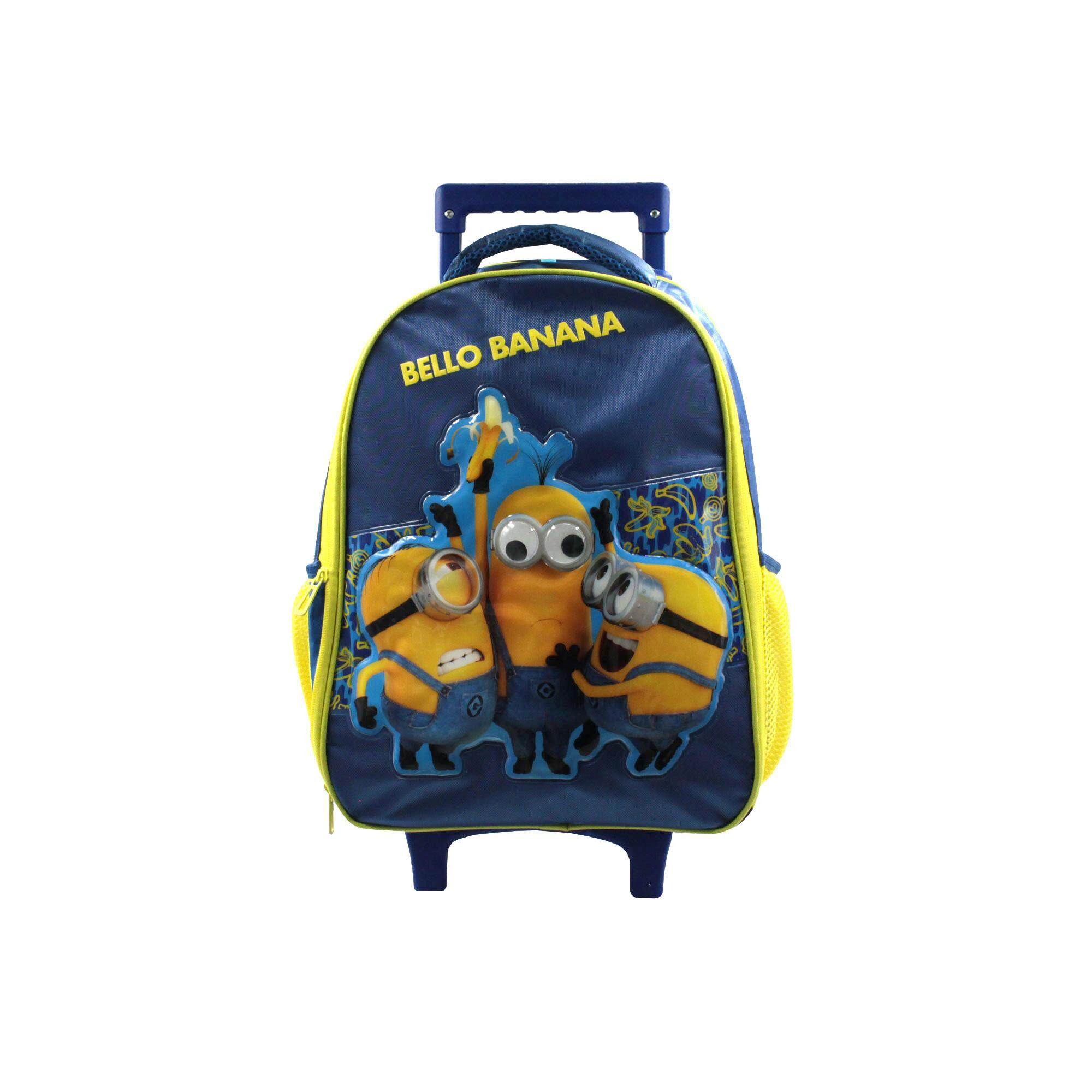 Despicable Me Minions Children Cartoon Character 16 Inch Trolley Bag